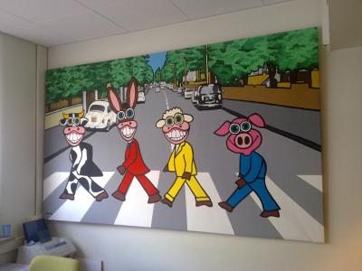 Abbey Road e...gli animali!