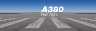 Airbus A380 - First flight