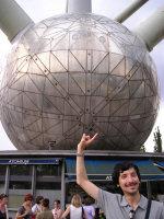 Io all'Atomium