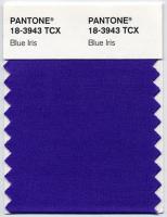 PANTONE 18-3943 Blue Iris