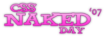 """CSS Naked Day"""