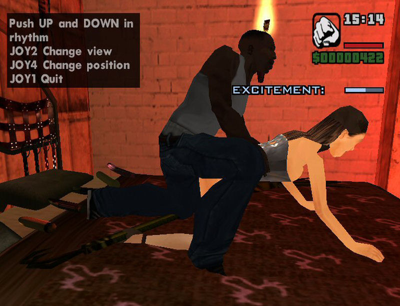 All the GTA San Andreas Hot Coffee - Uncensored mod.