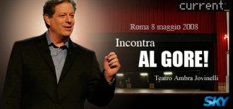 Al Gore incontra i blogger a Roma
