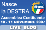 Liveblog dell'assemblea costituente de La Destra