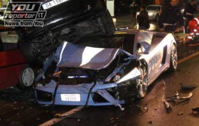 Lamborghini Gallardo in dotazione alla Polizia di Stato