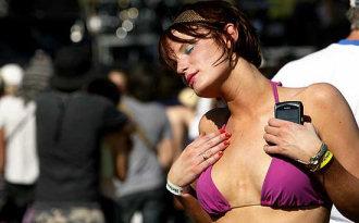 Kathryn Loder balla a Coachella
