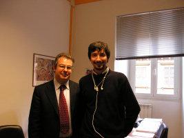 Mauro Lupi e io