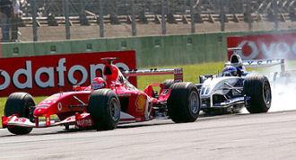 Schumacher tiene dietro Montoya a Monza