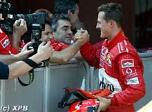 Schumacher vince a Montmelò