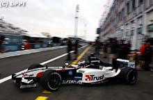 La Minardi a Magny Cours
