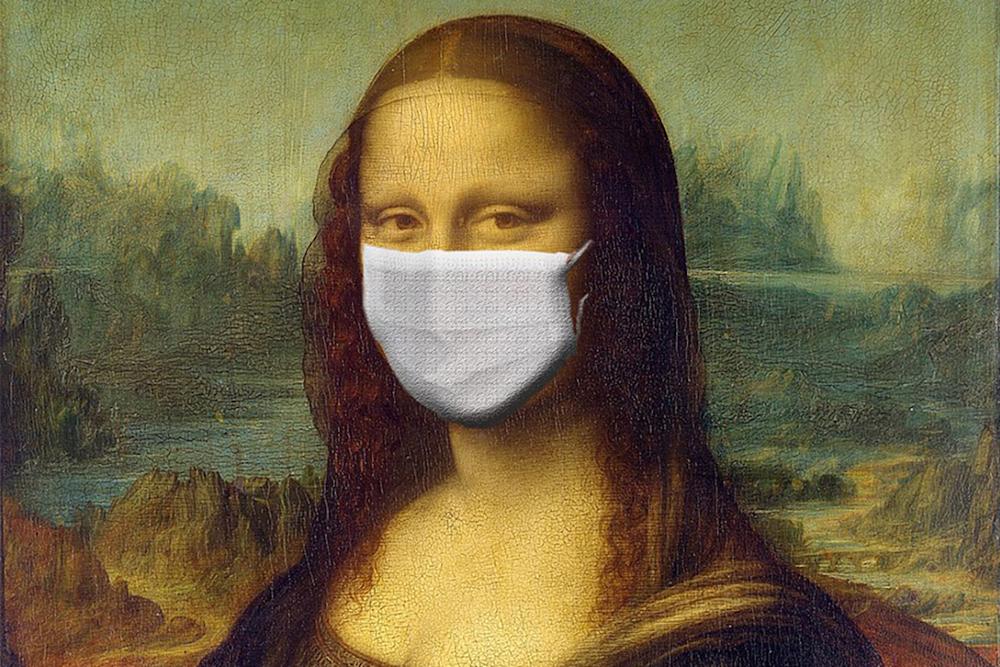 Monna Lisa Coronavirus