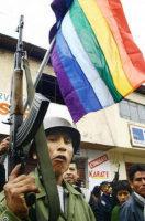 Bandiera dei ribelli peruviani di Humala