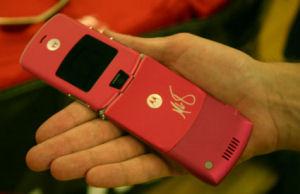 Motorola RAZR Sharapova