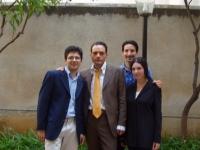 Igor Righetti, Roberto Blandino Alamia, Loredana Palazzolo e Tony Siino