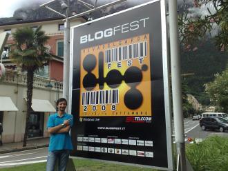 """Io alla """"BlogFest"""" 2008"""