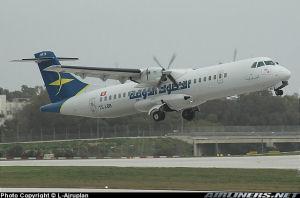 Foto dell'ATR 72 TS-LBB