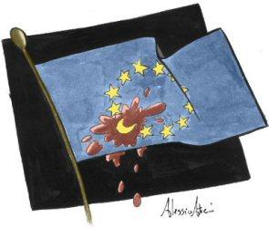 La nuova bandiera europea...