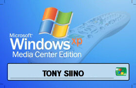 Il mio badge per il demo day di Windows Media Center