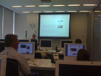 Formazione per WordPress al The New York Times
