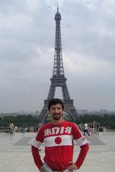 Io alla Tour Eiffel