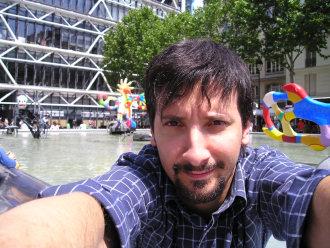 Io al Centre Pompidou