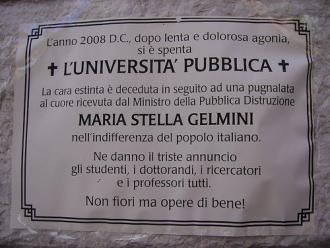 La morte dell'Università