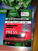 "Il mio pass per l'""Heineken Jammin' Festival"""