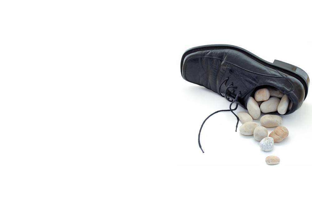 Due sassolini nelle scarpe di un social media manager senior