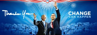 Obama - CHANGE CAN HAPPEN