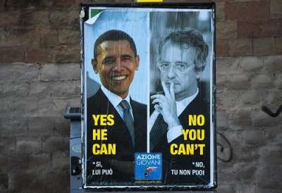 «Yes he can, no you can't» (foto di Chiara Lalli)
